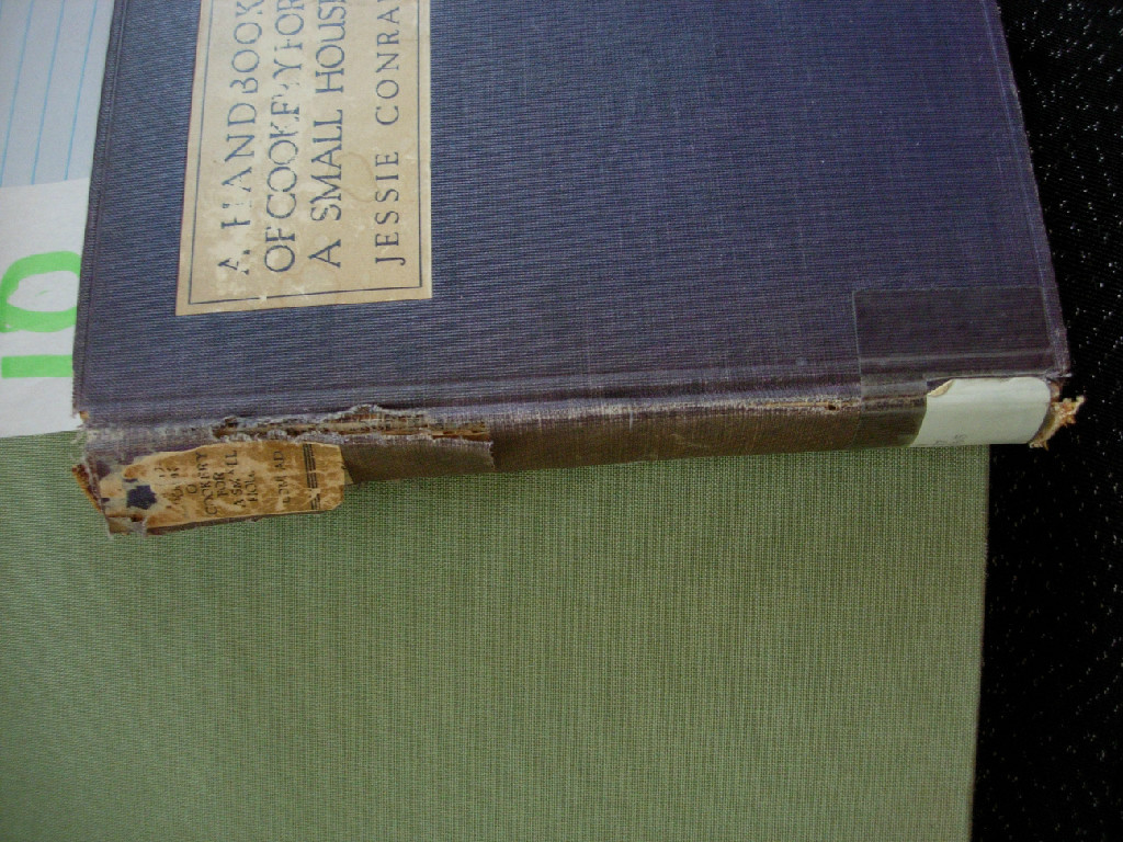 Jessica Conrad Handbook of Cookery for a Small Houshold 1923.JPG