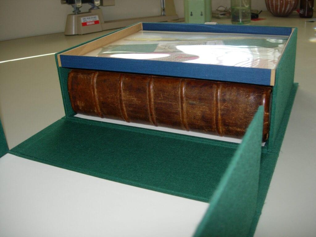 custom box with display tray