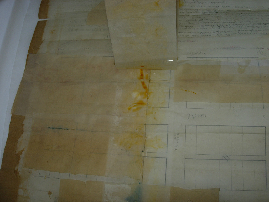 paper tape removal after immersion in water