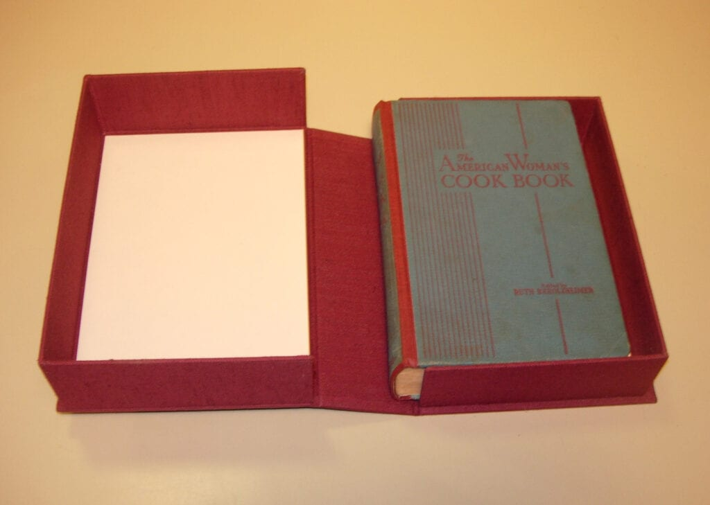 custom box housing repaired cook book