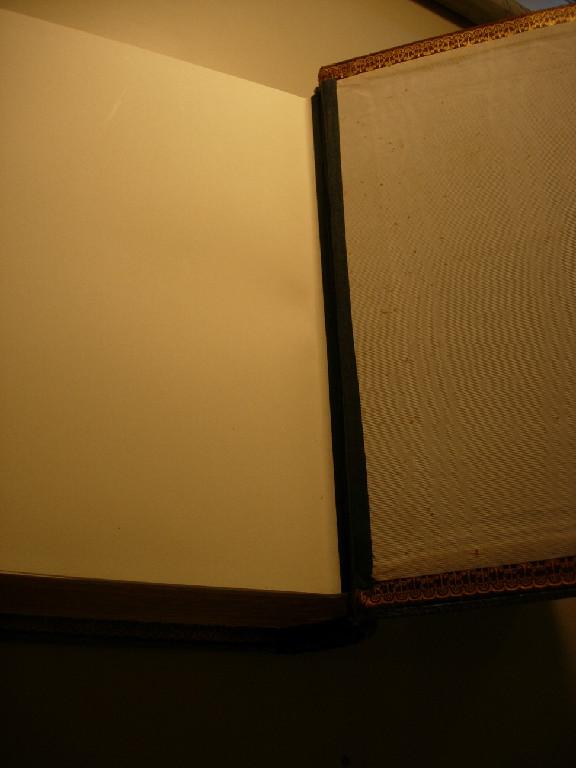 back endpaper after treatment
