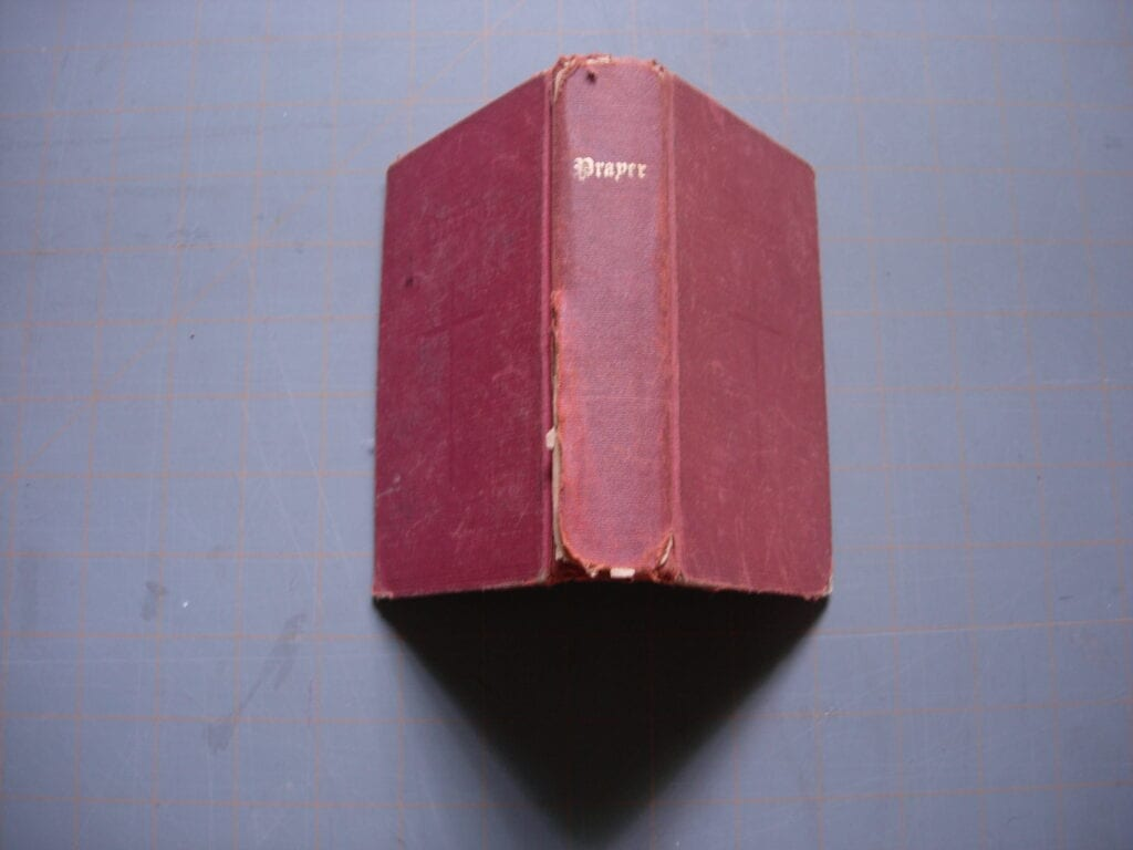 cloth bound book to be rebound in leather