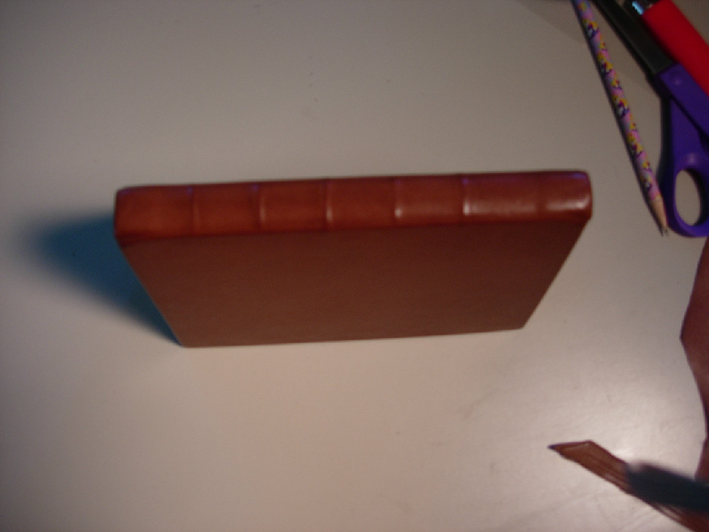 new binding spine after treatment with SC6000